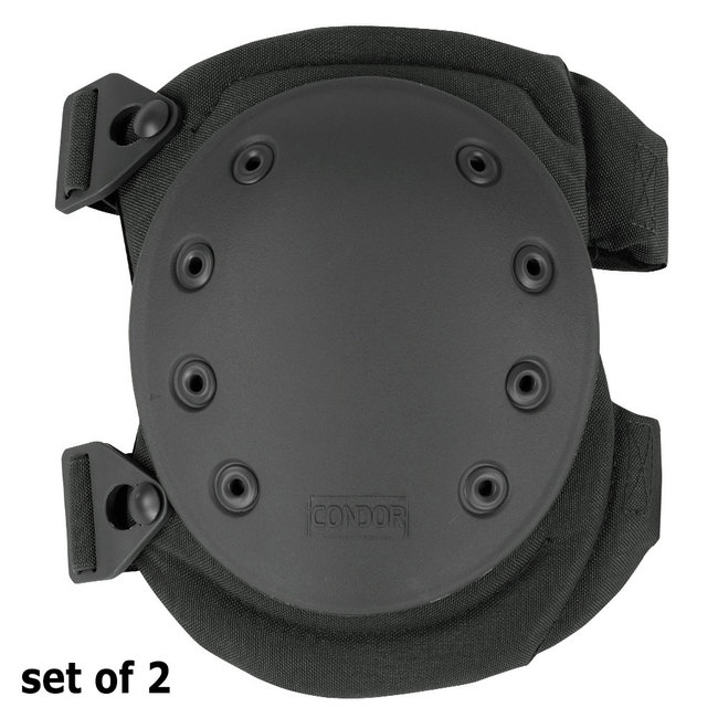 Condor Outdoor Knee Pad Version 2 / Tactische Kniebeschermer Black (KP2-002)