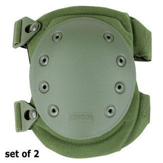 Condor Outdoor Knee Pad Version 2 / Tactische Kniebeschermer OD Green (KP2-001)