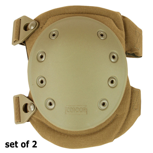 Condor Outdoor Knee Pad Version 2 / Tactische Kniebeschermer Coyote (KP2-498)
