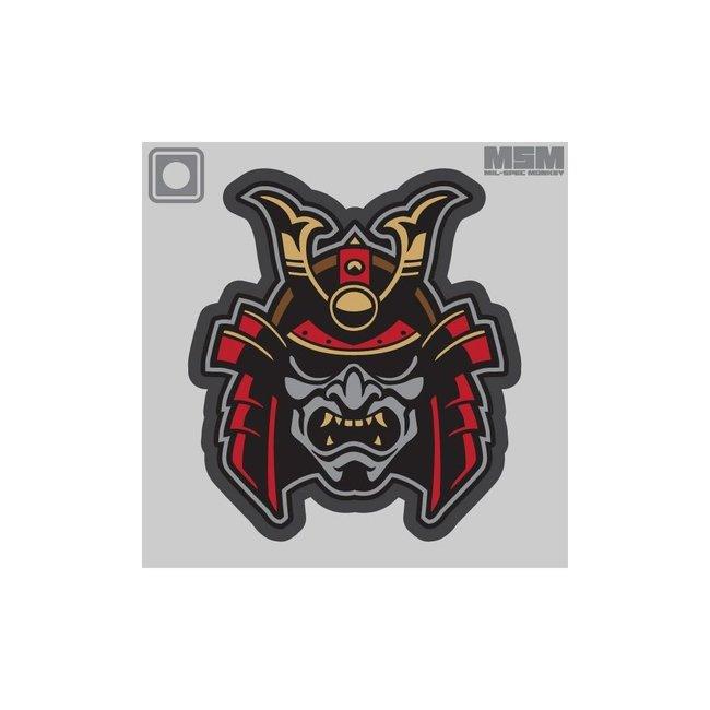 Mil-Spec Monkey SAMURAI HEAD 1 MORALE PATCH