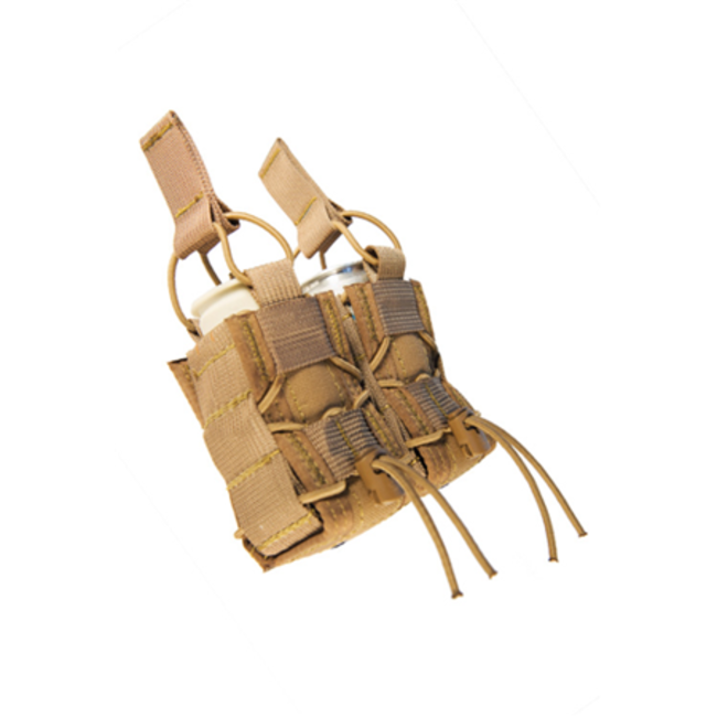 High Speed Gear 40MM TACO® - Double Molle - Coyote Brown