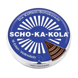 SCHO-KA-KOLA Cafeine Chocolade Melk (Blauw)