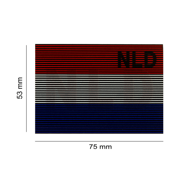 Clawgear DUAL IR PATCH NLD  Netherlands Color