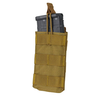 Condor Outdoor Single Open-Top M4/HK416/C8/Diemaco Mag Pouch Coyote (MA18-498)