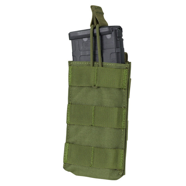 Condor Outdoor Single Open-Top M4/HK416/ Mag Pouch OD Green (MA18-001)
