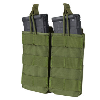 Condor Outdoor Double Open-Top M4/HK416/C8 Mag Pouch OD Green (MA19-001)