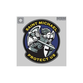 Mil-Spec Monkey Saint Michael Modern PVC Morale Patch