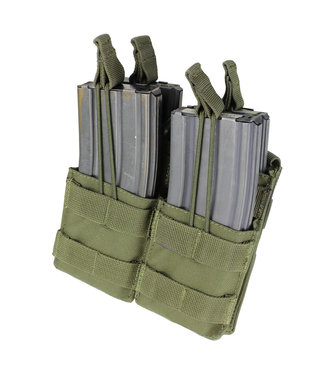 Condor Outdoor Double Stacker hk416/C8/M4 OD Green (MA43-001)