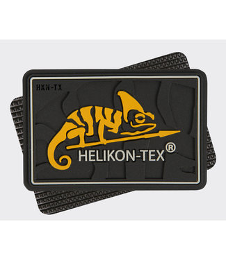 Helikon-Tex HELIKON-TEX Logo Patch - PVC Black (OD-HKN-RB-01)