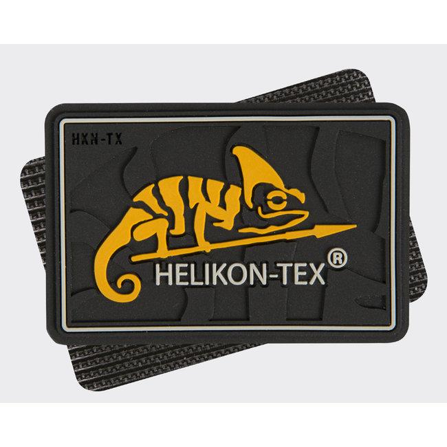 Helikon-Tex HELIKON-TEX Logo Patch - PVC Black (OD-HKN-RB-01)