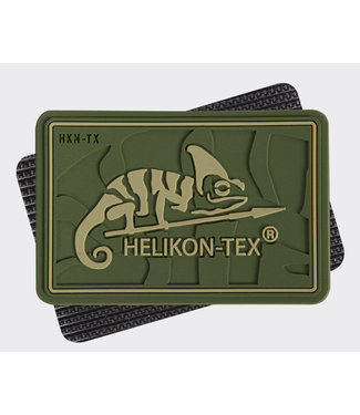 Helikon-Tex HELIKON-TEX Logo Patch - PVC Olive Green (OD-HKN-RB-02)