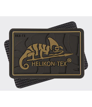 Helikon-Tex HELIKON-TEX Logo Patch - PVC Coyote Brown (OD-HKN-RB-11)
