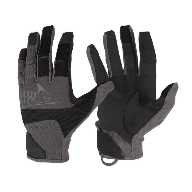 Helikon-Tex Range Tactical Gloves® - Black / Shadow Grey (RK-RNG-PO-0135A)