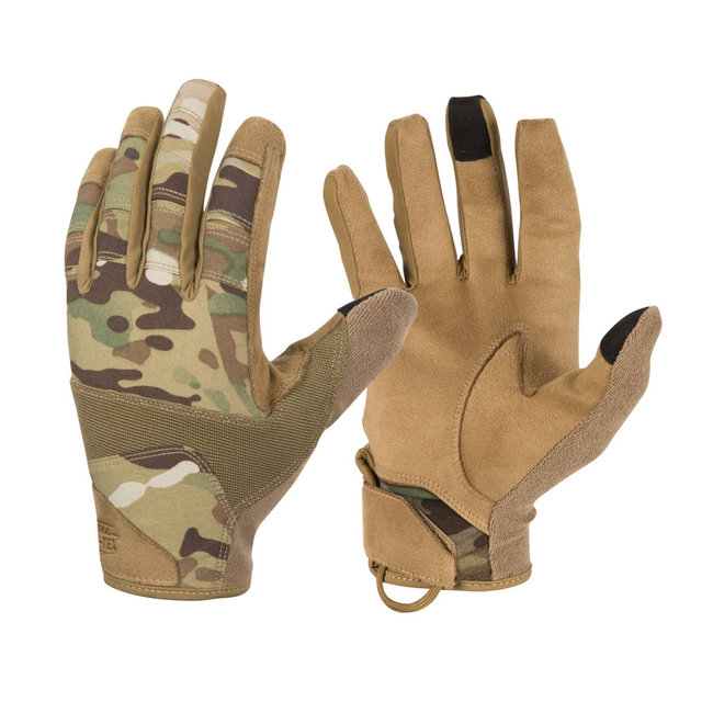 Helikon-Tex Range Tactical Gloves® - Multicam®/Coyote (RK-RNG-PO-3411A)