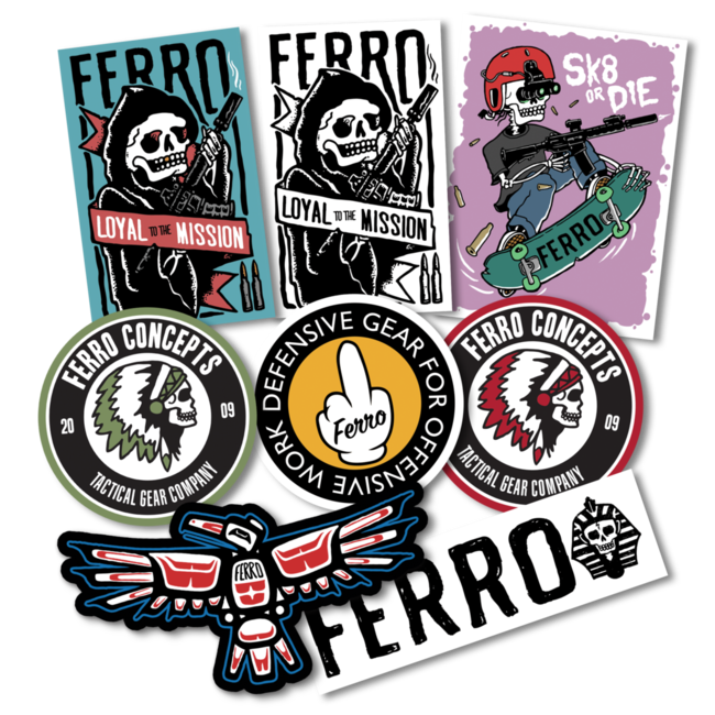 Ferro Concepts STICKER PACK
