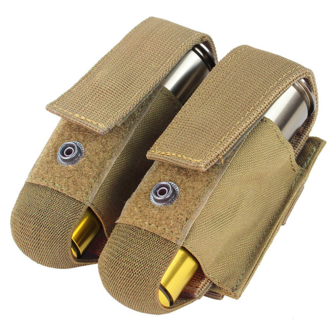 Condor Outdoor DOUBLE 40 MM GRENADE POUCH Coyote Brown (MA13-498)