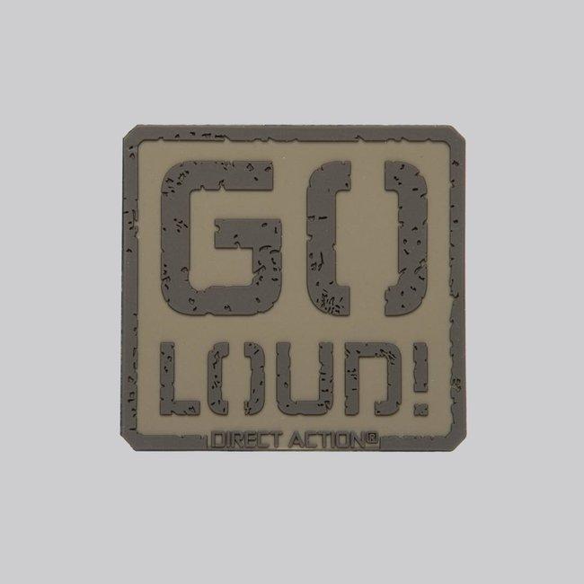 Direct Action  Patch GO LOUD! - PVC