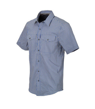 Helikon-Tex COVERT CONCEALED SLEEVE SHIRT ROYAL BLUE CHECKERED