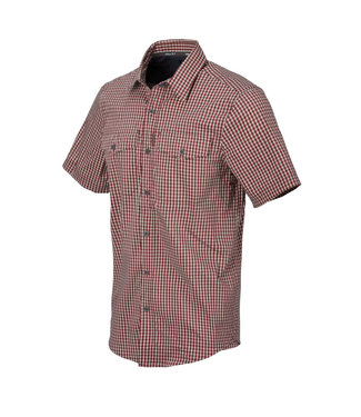 Helikon-Tex COVERT CONCEALED SLEEVE SHIRT RED DIRT CHECKERED
