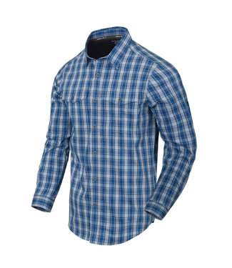 Helikon-Tex COVERT CONCEALED CARRY SHIRT Ozark Blue Plaid