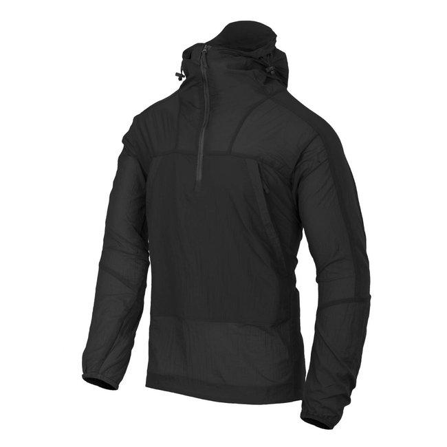 Helikon-Tex WINDRUNNER® Windshirt - WindPack® Nylon® - Black (KU-WDR-NL-01)