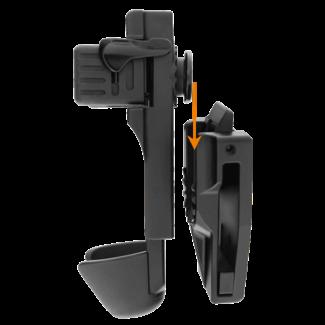 ESP ( European Security Products) ESP BHU54 Roteerbare Tactische Wapenstokhouder voor Telescoop Wapenstok