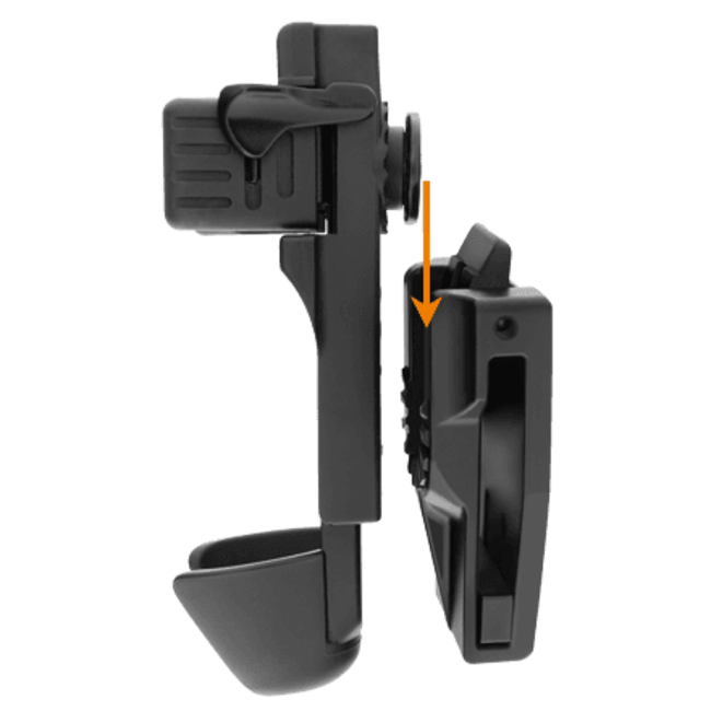 ESP ( European Security Products) ESP BHU54 Rotation Baton Holder for Telescopic Baton