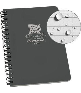 Rite in the Rain Side Spiral Notebook Grey 873