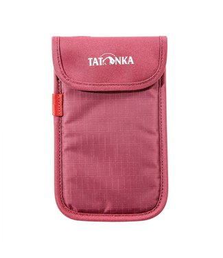 Tatonka Smartphone Case L Bordeaux Red