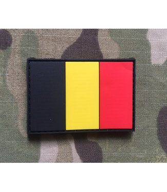 Applied Store Belgium Flag Rubber Patch Color