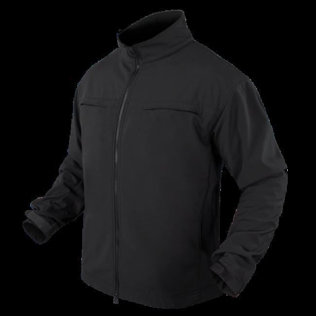 Condor Outdoor Black Covert Softshell Jacket (101049-018)