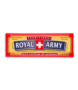Royal Army Chocolate SWISS MILK CHOCOLATE