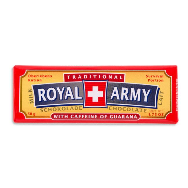 Royal Army Chocolate SWISS MILK CHOCOLATE