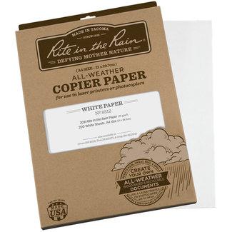 Rite in the Rain Weatherproof Laser Printer Paper, A4, White, 200 Sheet Pack (No. 8512)