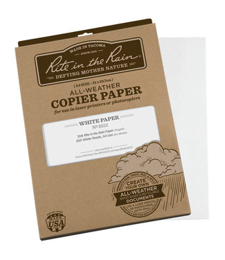 Rite in the Rain Weatherproof Laser Printer Paper, A4, White, 200 Sheet Pack (No. 8512)