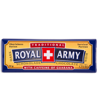 Royal Army Chocolate SWISS DARK CHOCOLATE