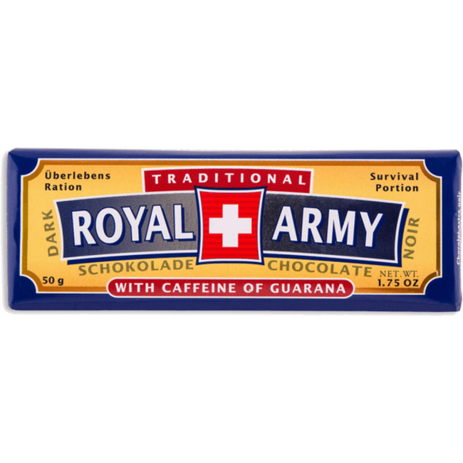 Royal Army Chocolate SWISS DARK CHOCOLATE
