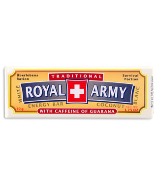 Royal Army Chocolate SWISS WHITE CHOCOLATE