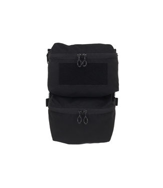 Ferro Concepts ADAPT BACK PANEL DOUBLE POUCH Black