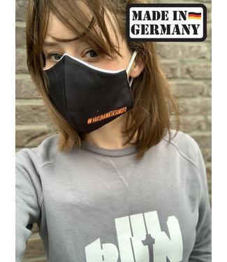 Applied Orange™ Face Mask Hakuna Black - 100% cotton