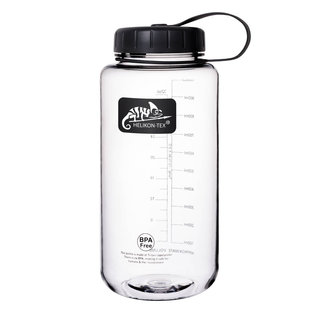 Helikon-Tex TRITAN™ BOTTLE Wide Mouth (1 Liter) - Clear (HY-WM1-TT-0001A)
