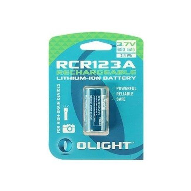 Olight RCR123A Lithium 3.7 volt 650mAh