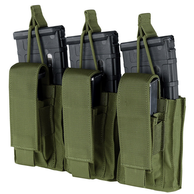Condor Outdoor GEN2 TRIPLE KANGAROO MAG POUCH OLIVE DRAB (191233-001)