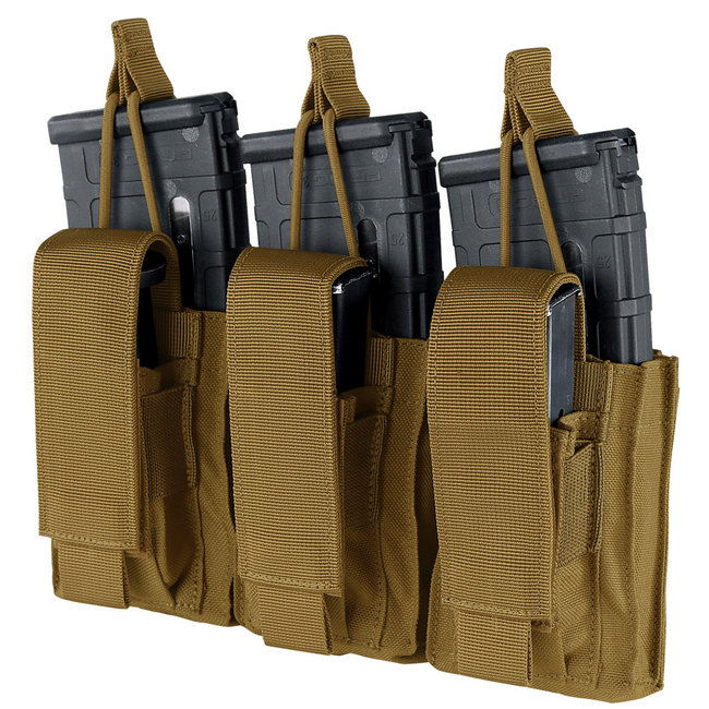 Condor Outdoor GEN2 TRIPLE KANGAROO MAG POUCH COYOTE BROWN (191233-498)