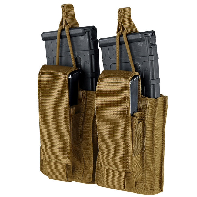 Condor Outdoor GEN2 DOUBLE KANGAROO MAG POUCH COYOTE BROWN (191232-498)