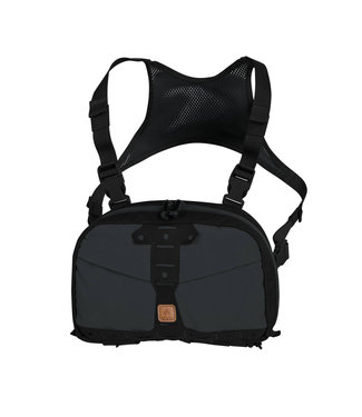 Helikon-Tex Chest Pack Numbat® - Shadow Grey / Black (TB-NMB-CD-3501A)