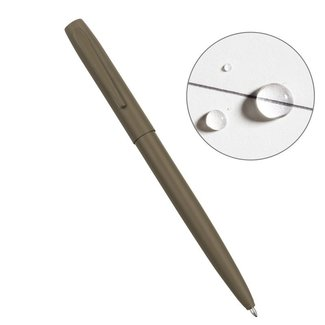 Rite in the Rain All-Weather METAL CLICKER PEN Flat Dark Earth (No. FDE97)