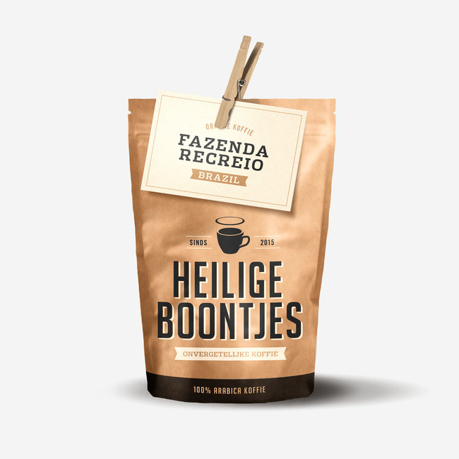 Heilige Boontjes Koffie Brazil - 250 gram - Bonen