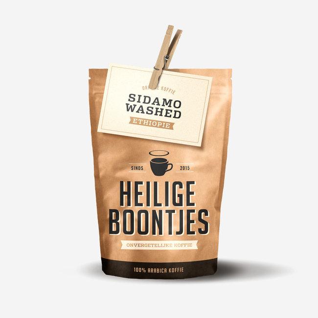Heilige Boontjes Koffie Ethiopië - 250 gram - Filtermaling