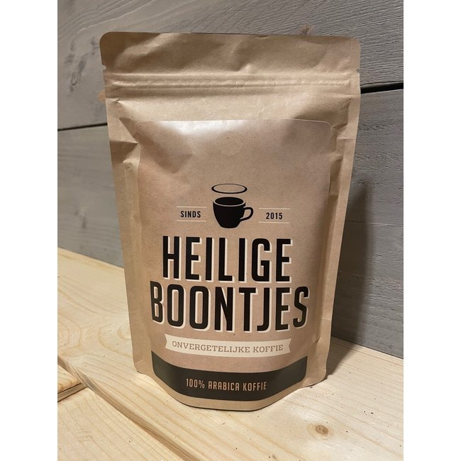Heilige Boontjes Koffie Blend 010 - 250 gram - Ground